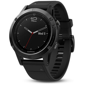 Garmin fenix 5S With black bracelet black
